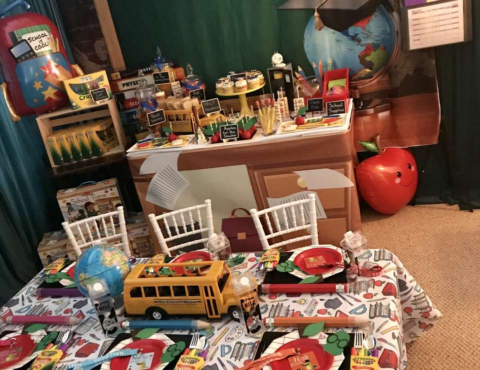 Charlie's Classroom Celebration  - School Theme