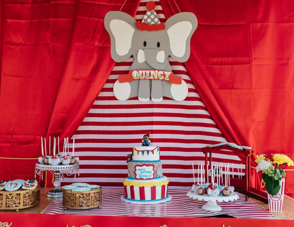 Circus 1st birthday party - Circus / Carnival