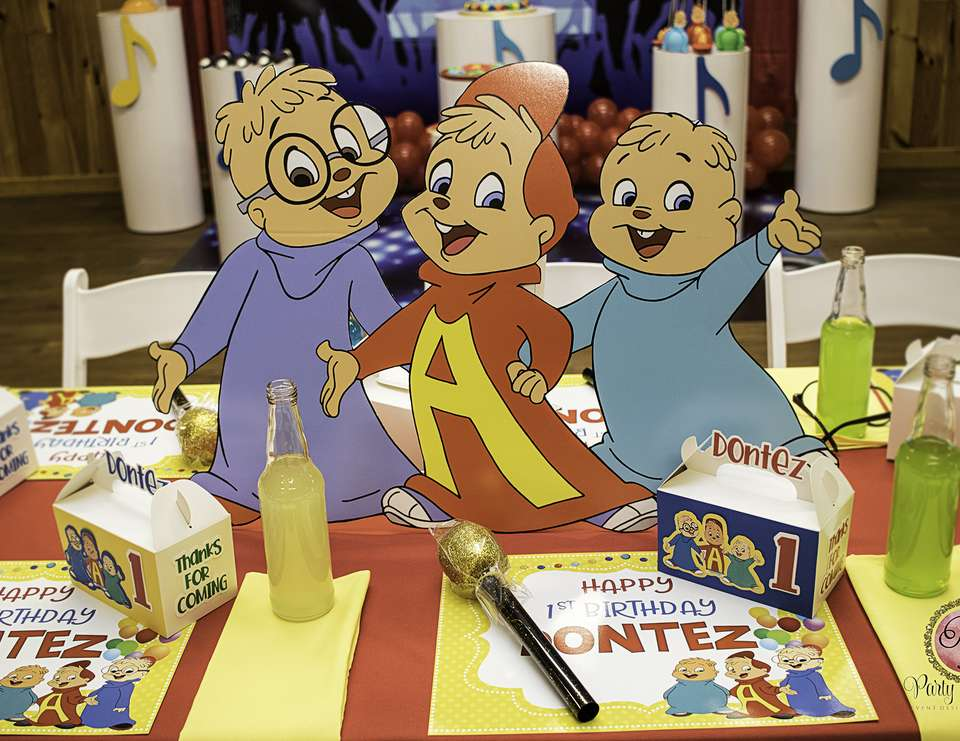 Dontez And the Chipmunks - Alvin and the Chipmunks