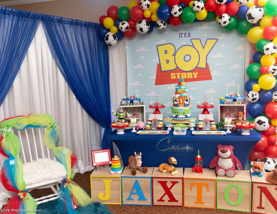 It's a Boy Story  - Toy Story Baby Shower