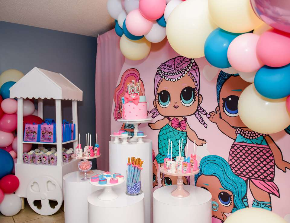 LOL Surprise Dolls birthday party - LOL Surprise Dolls