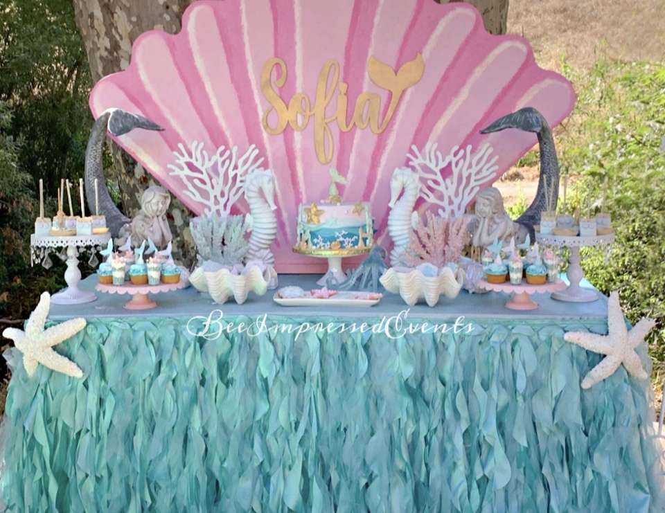 Under the Sea Party  - mermaid and under the sea theme