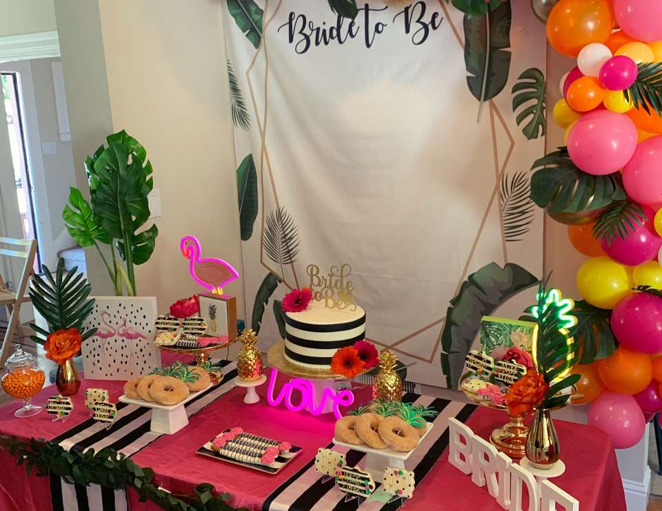 Tropical Kate Spade Bridal Shower - Tropical Kate Spade