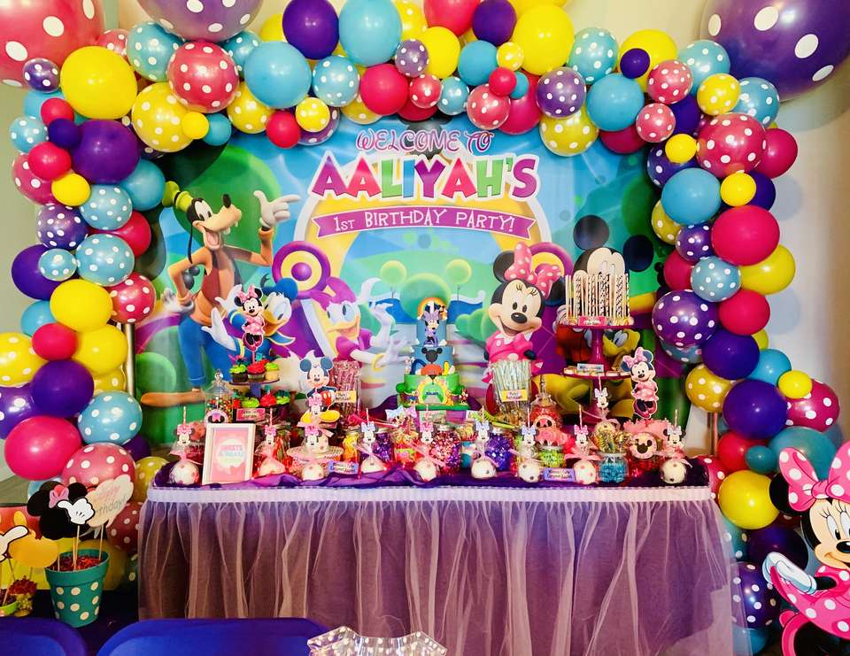 Aaliyah's Clubhouse  - Minnie Mouse Clubhouse