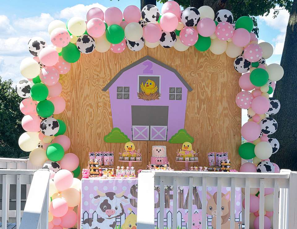 Sofia's Barnyard Birthday Party - Farm