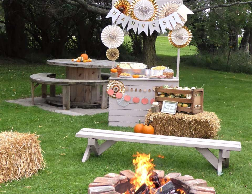 Fall Harvest Party & Popcorn Bar - Fall Harvest