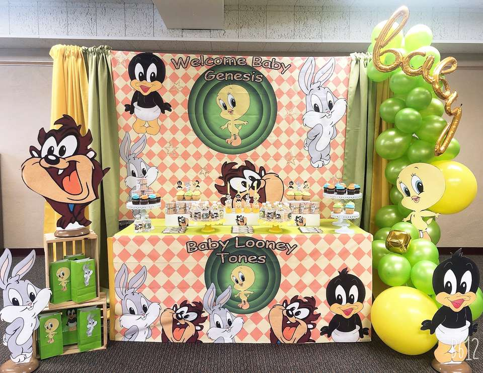 Adorable Baby Looney Tunes  Baby Shower  - Baby Looney Tunes