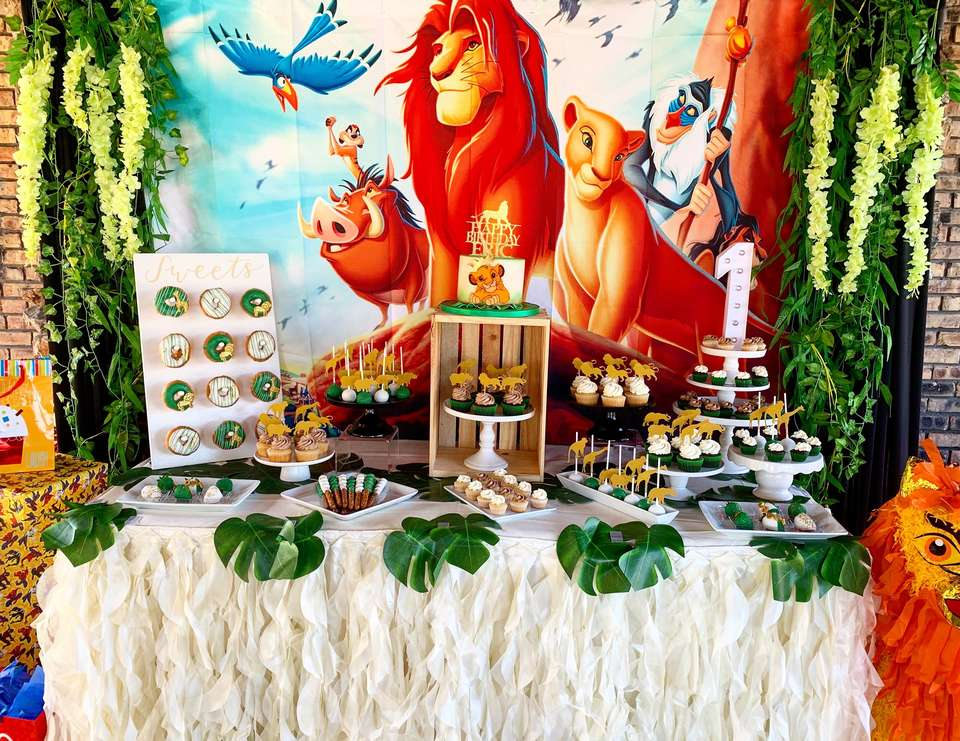 Lion King 1st Birthday  - Lion King