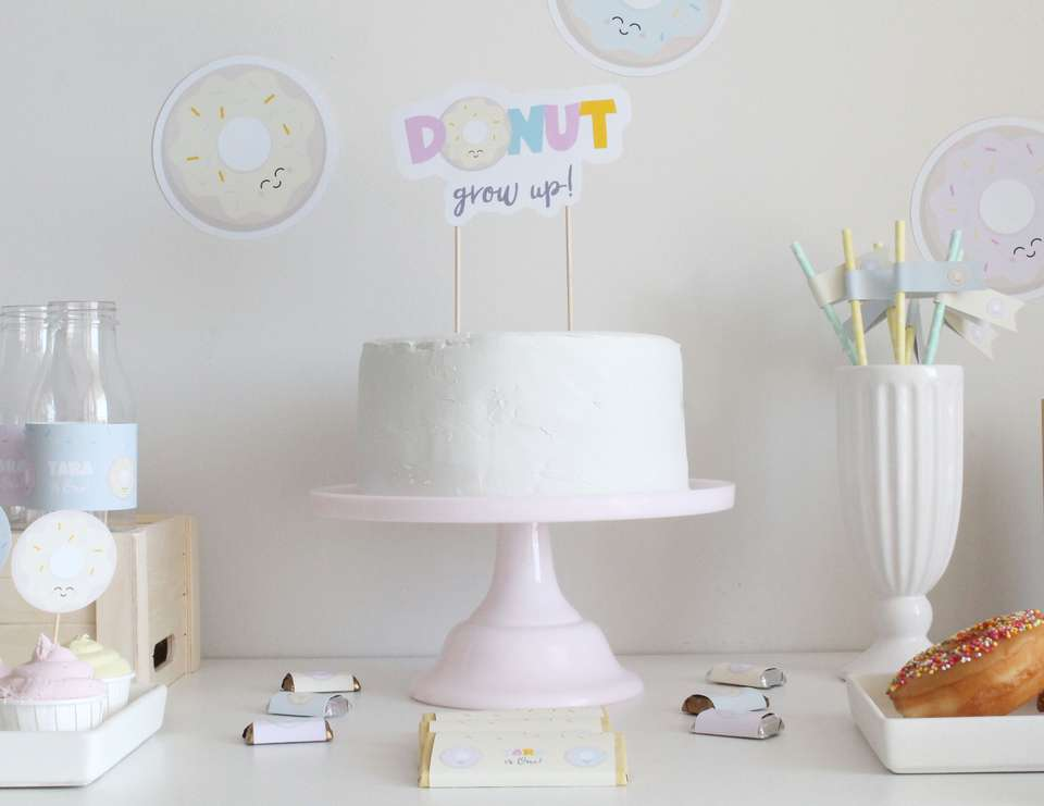Donut Birthday Party - Donuts