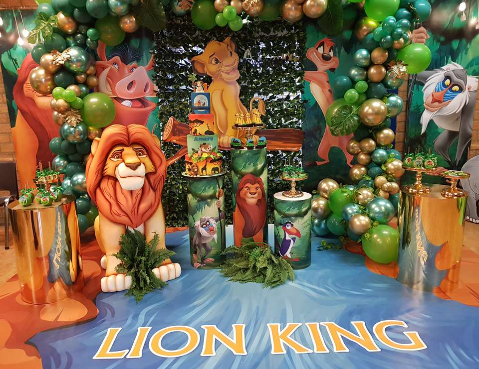 Lion King Birthday 1st Birthday Lion King Party Catch My Party