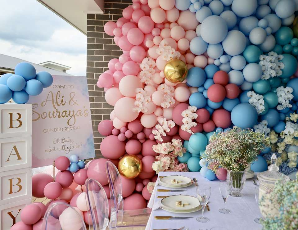 Ali and Souraya's Gender Reveal - Blue or Pink - What will you be?