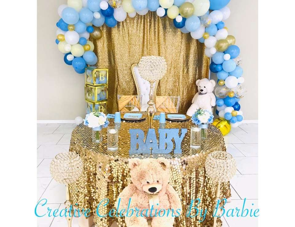 Kiana's Baby Shower - Teddy Bears and Balloons
