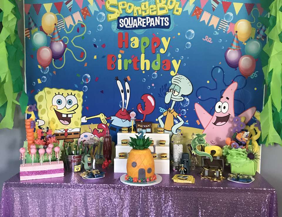 Two years later  - Spongebob