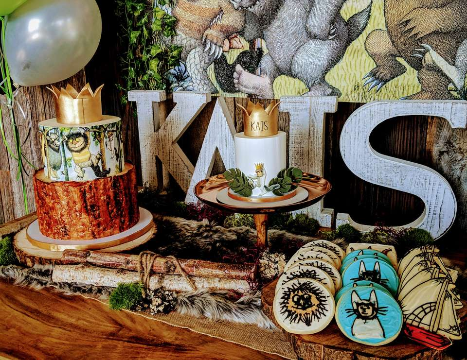 Wild One First Birthday - Where the Wild Things Are