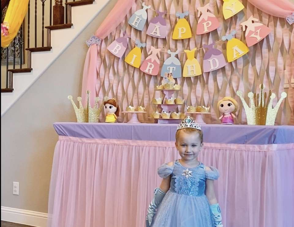 Addison's Disney Princess Party - Disney Princess