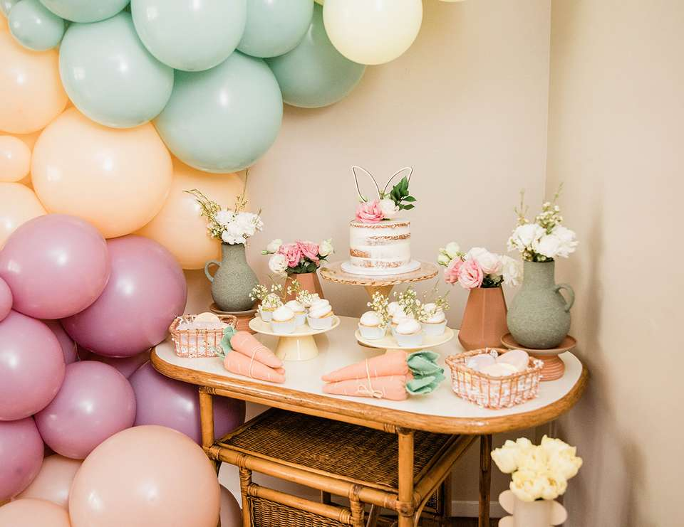 Easter Style Shoot - Boho Easter Party