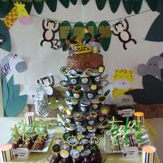 Jungle Baby Shower - Jungle Safari