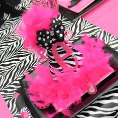 Pink Divalicious Party - Hot Pink and Zebra Print