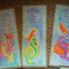 Under the Sea Tea Party - Mermaid Tea Party
