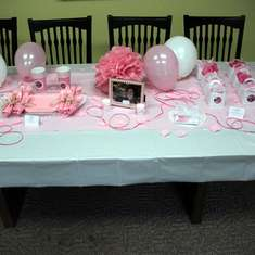 Lori Graham Bakker's Party {in a box} - Blessed Birthday / pink