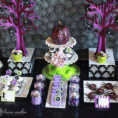 Halloween Glam Dessert Table - Sassy & Fun Halloween Party