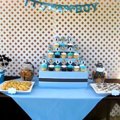 Christina's Baby Shower (dessert/guest tables) - Bears