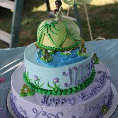 MYA'S 4TH BIRTHDAY  - PRINCESS AND THE FROG