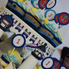 Joshua's Nautical 1st Birthday - Sailor/nautical