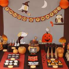 NINA DESIGNS HALLOWEEN PARTY - Halloween