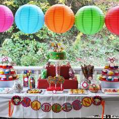 Madelyn's 4th Birthday Party - Ni Hao, Kai Lan