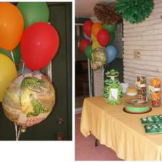Charlie's Dino-mite Birthday Party - Dinosaur
