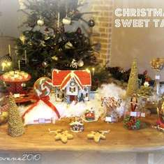 christmas sweet table by Nadège - gingerbread, sweets, homemade