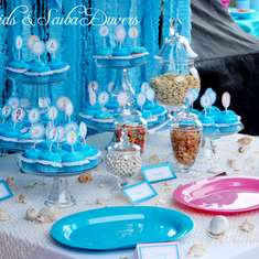 Mermaids & Scuba Divers Birthday - Mermaids