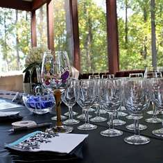 wine tasting bridal shower
