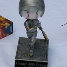 Danny's 40th Season - Baseball