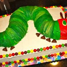 Very Hungry Caterpillar - 1st Birthday