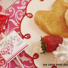 KISS ME Valentines Romantic Breakfast Party - valentines