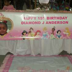 1st Royal Birthday Party - Diamond Princess