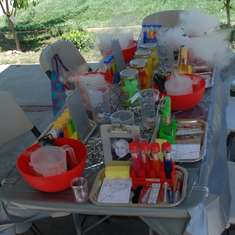 Mad Scientist Birthday party - science