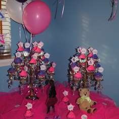 LAURAN'S 9TH BIRTHDAY PARTY - PRETTY IN PINK & PERFECT IN PURPLE