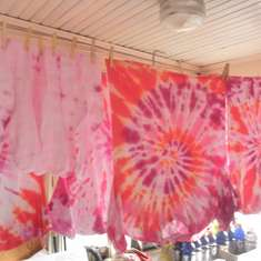 Tye Dye Explosion - Movie Night