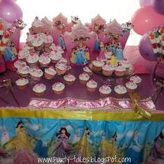 Valeria's Disney Princess Party - Disney Princess