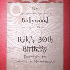 BOLLYWOOD - 30th Birthday