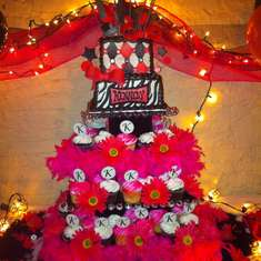 Kennedy's Sweet 16 - Pink and Black Super Sweet 16