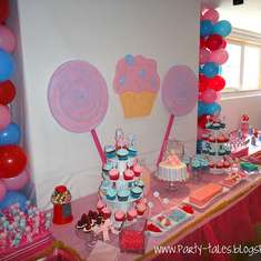 SWEET 2nd Birthday Party - SWEET SHOP YUMMILAND CANDYLAND