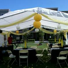 Mi Mi Graduation Party - Yellow,Black, and White