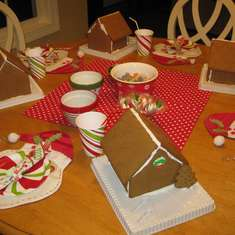Gingerbread House Party  - Gingerbread House Party