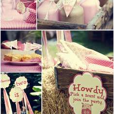 2nd Birthday Farmyard Party - The Farm