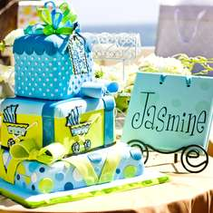 Surprise Mommy...It's a shower for Baby Jasmine! - Surprise Shower for Mommy-to-be