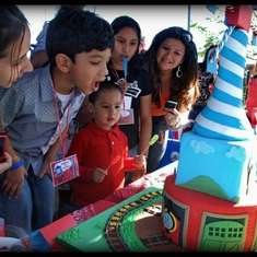 Pedro Andres' 4th Bday party - Thomas and friends